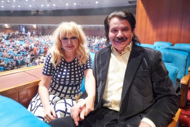 Павел Зибров с женой Мариной