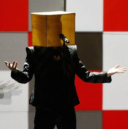 Нил Теннант из «Pet Shop Boys» на концерте в Барселоне, Испания, 7 июля