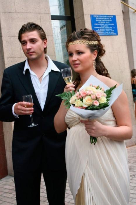 Петр Кислов и Полина Гагарина