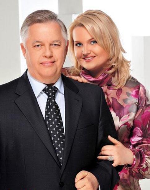 Петр Симоненко и Оксана Ващенко