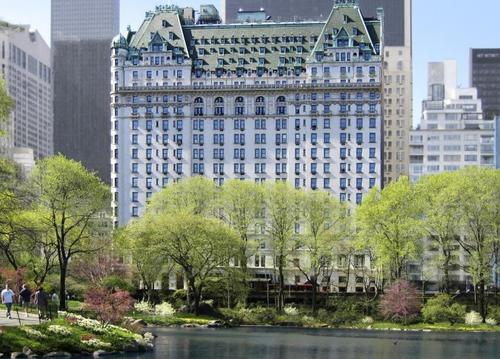Жилой комплекс Plaza Hotel в Нью-Йорке