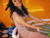 Виктория Дайнеко на дне рождении дочери