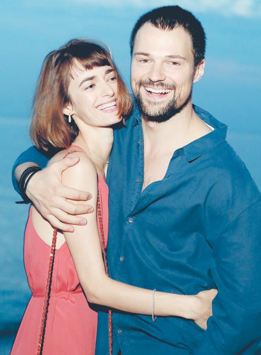Даниила Козловский и Ольга Зуева