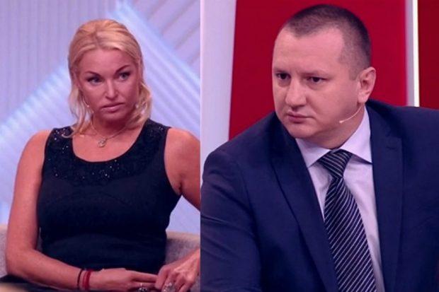 Александр Скиртач и Анастасия Волочкова