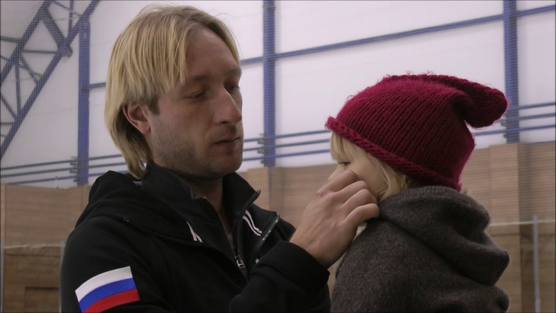 саша плющенко с отцом
