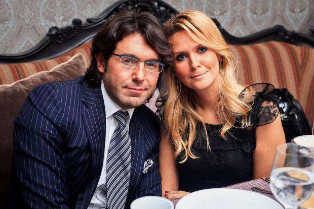 Андрей Малахов с супругой
