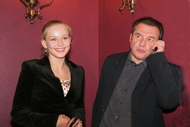 Юлия Пересильд и Алексей Учитель