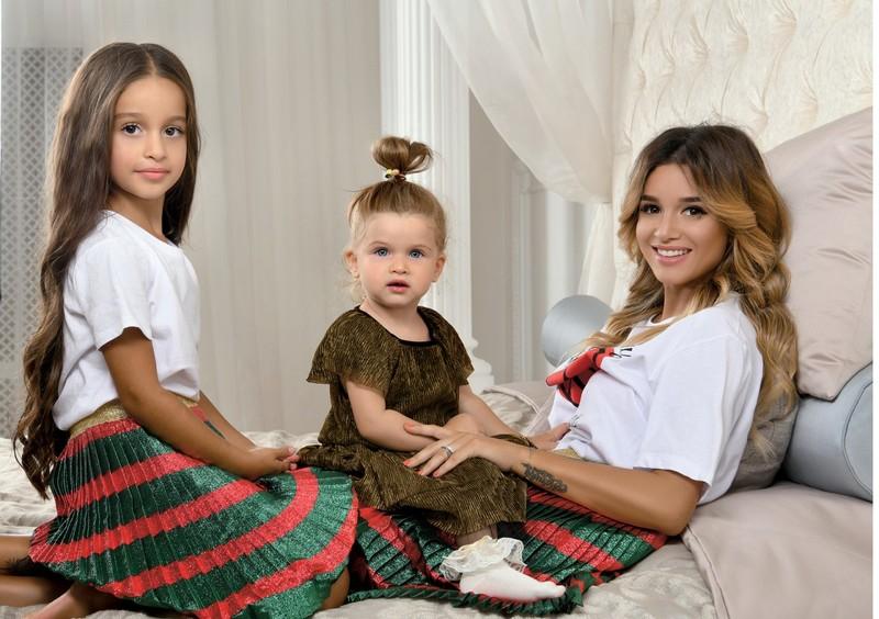 ксения Бородина с семьёй