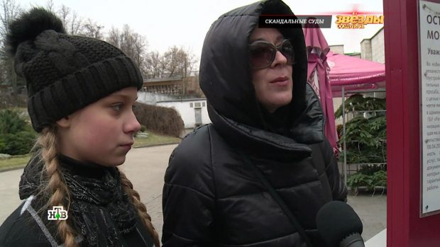 Анастасия Годунова с матерью