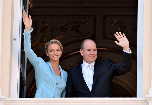 Княгиня Монако Шарлен Уиттсток и князь Монако Альбер II