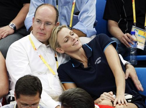 Князь Монако Альбер Второй / Prince Albert II of Monaco и Шарлен Уиттсток / Charlene Wittstock