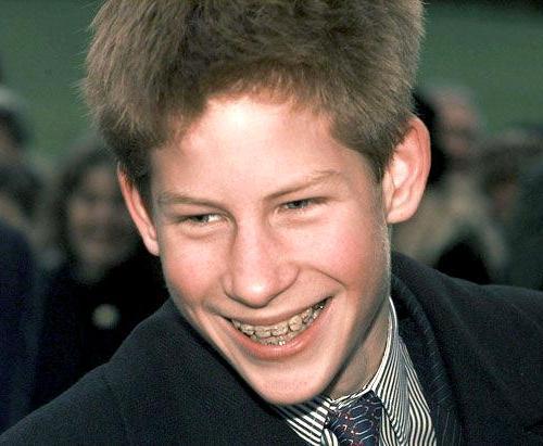 Принц Гарри-подросток