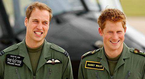 Братья-принцы Уильям и Гарри
