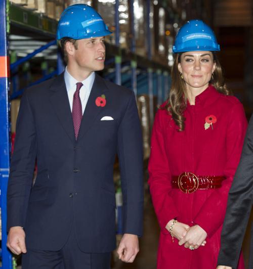 Британский принц Уильям и герцогиня Кембриджская Кэтрин