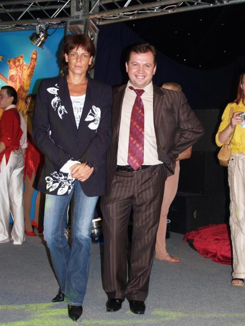 Принцесса Монако Стефания и Николай Кобзов