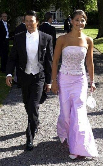 Принцесса Виктория с Даниэлем Уэстлингом