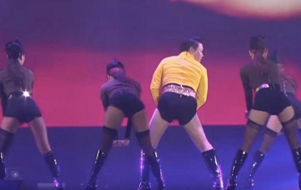 Psyна концерте в Сеуле