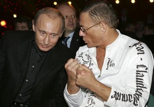 Владимир Путин / Vladimir Putin и Жан-Клод Ван Дамм / Jean-Claude Van Damme