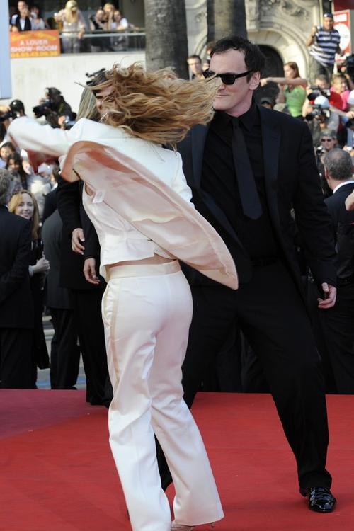 Мелани Лоран / Melanie Laurent и  Квентин Тарантино / Quentin Tarantino
