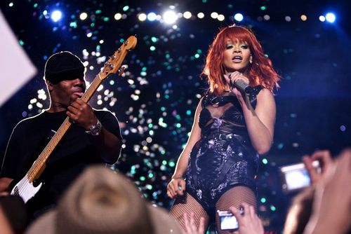 "Рианна / Rihanna на сцене ""Донбасс Арена"" 14 мая"