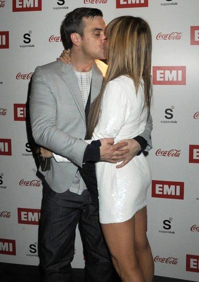 Робби Уильямс / Robbie Williams и Айда Филд / Ayda Field
