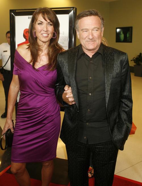 Робин Уильямс / Robin Williams и Сьюзан Шнайдер / Susan Schneider