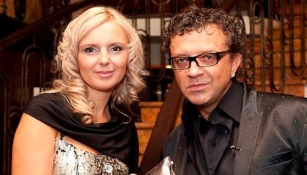 Роман Жуков с женой