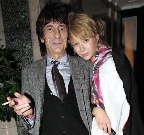 Ронни Вуд и Катя Иванова