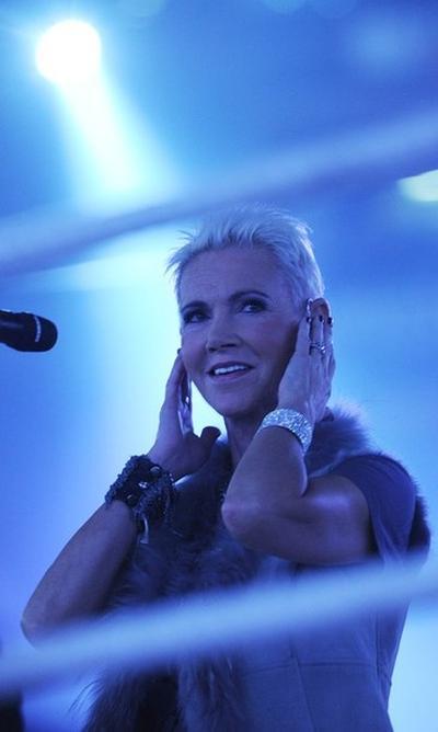 Солистка группы Roxette Мари Фредрикссон / Marie Fredriksson