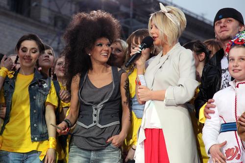 Руслана на шоу «Майданс»
