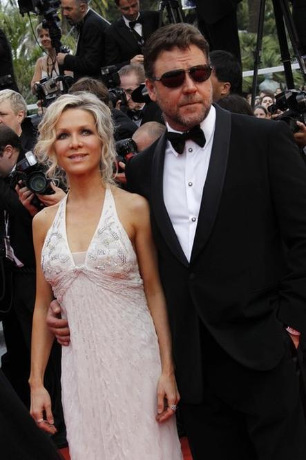 Рассел Кроу со своей супругой Даниэль Спенсер