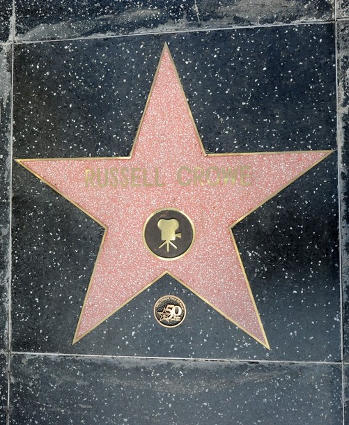 Russell Crowe`s star