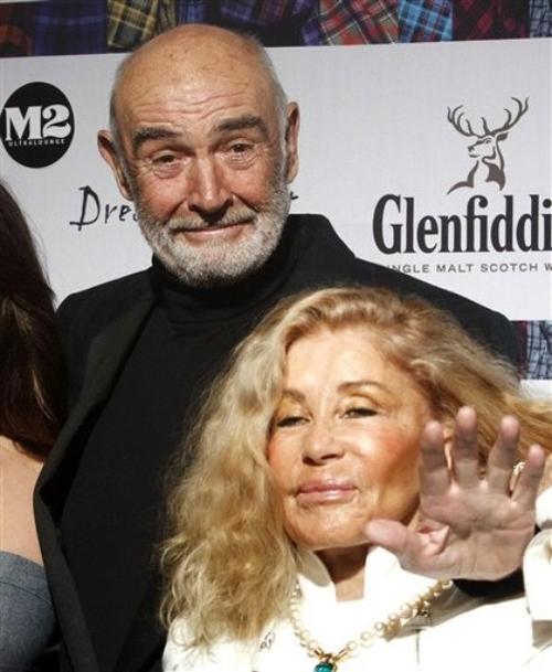Шон Коннери / Sean Connery и Мишелин Роквебрун / Micheline Roquebrune