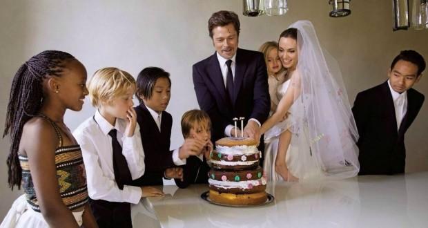 Семья Питта и Джоли