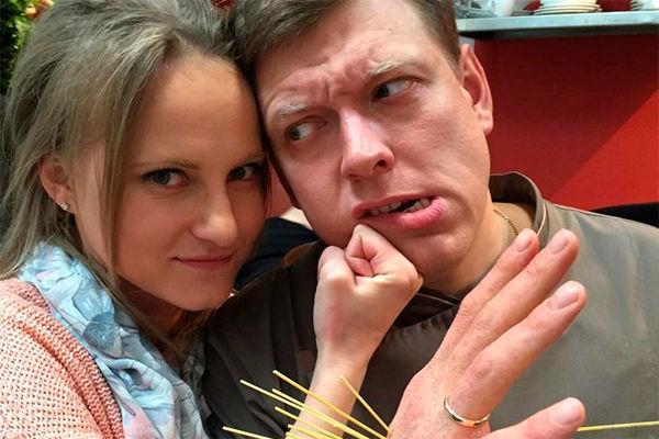 Сергей Лавыгин с женой