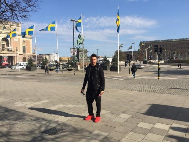 Сергей Лазарев в Швеции