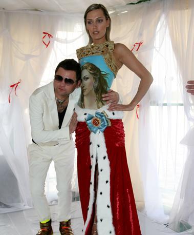 Этот наряд Сергей Ермаков приготовил для Мадонны