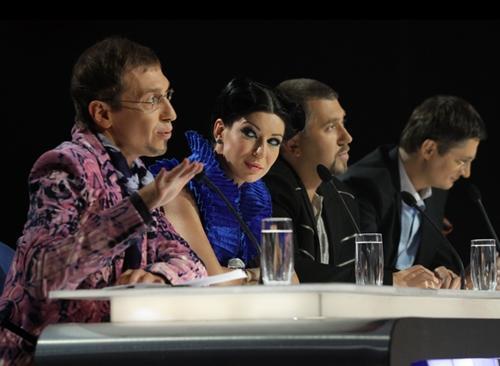 Сергей Соседов и другие судьи в шоу «Х-фактор»