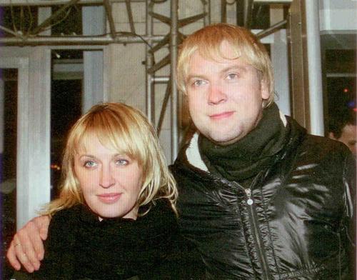 Сергей Светлаков с супругой Юлей