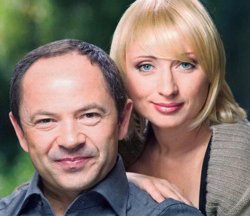 Сергей Тигипко и Виктория Лопатецкая