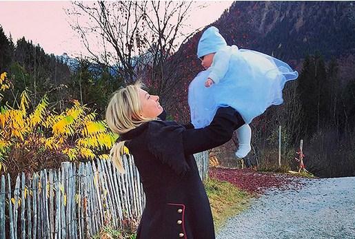 Шарапова с дочерью