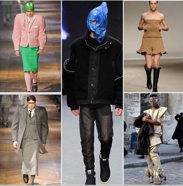 высокая мужская мода