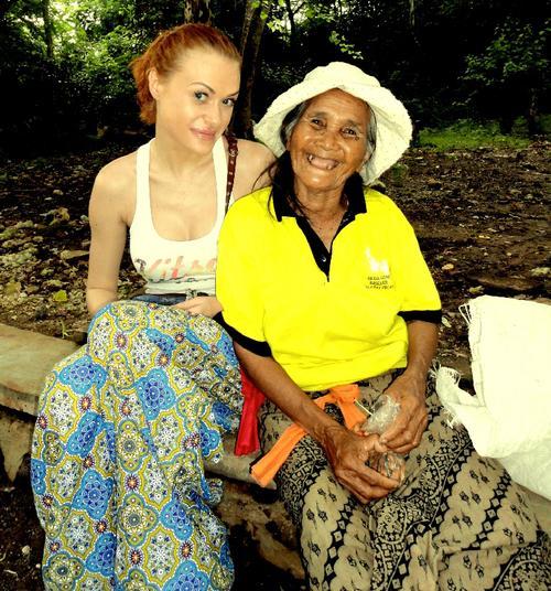 Слава из группы «неАнгелы» на Бали