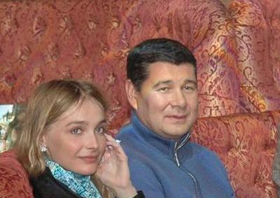 Снежана Онопка и Александр Онищенко