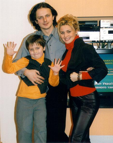 Семья Софии Ротару: сын, невестка и внук