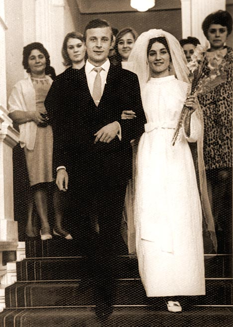 Свадебное фото: София Ротару с уже покойным мужем Анатолием Евдокименко