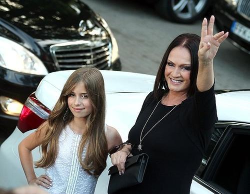 София Ротару с внучкой Софией