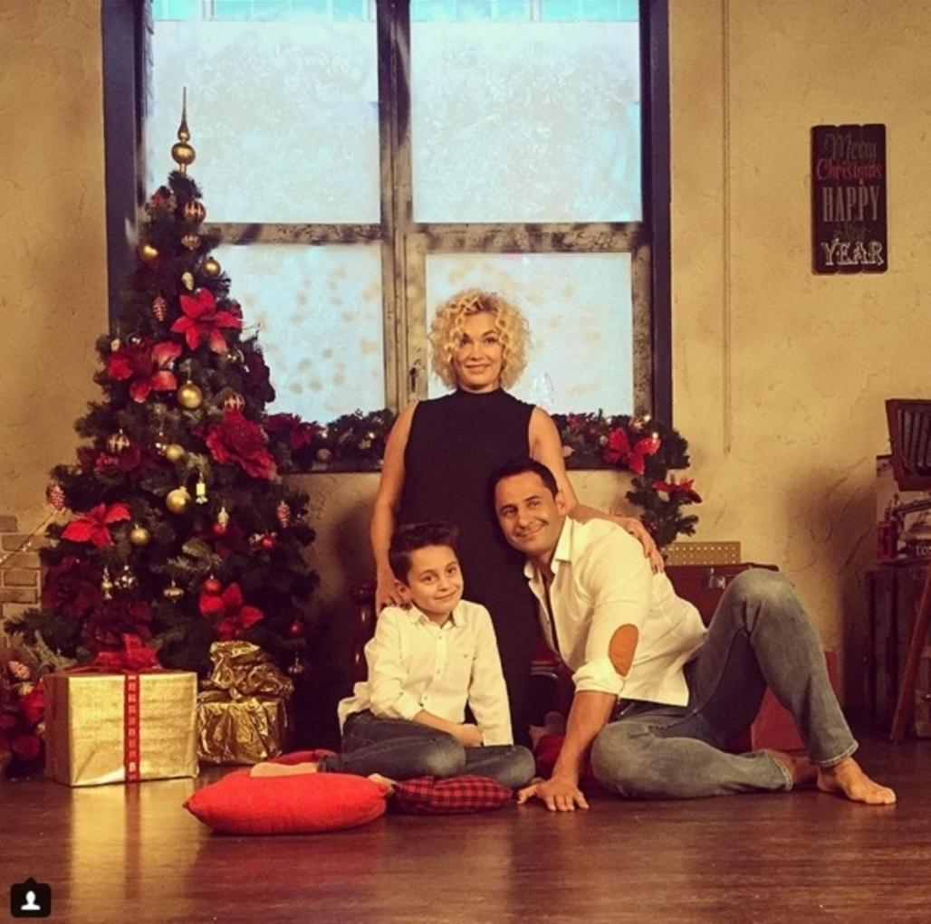 Стас Костюшкин с семьёй