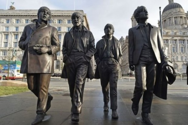 Статуи группы Битлз
