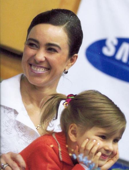 Стелла Захарова с дочерью Кристиной